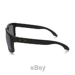 Original Oakley Holbrook Sunglasses OO9102-62 Matte Black Iridium Polarized Lens