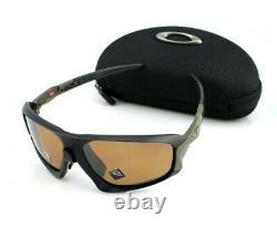 POLARIZED OAKLEY FIELD JACKET Matte Black PRIZM Tungsten Sunglasses OO9402 07 64