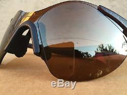 Oakley Zero Sunglasses  vintage oakley zero sunglasses 0 6 burn brush gold iridium rare