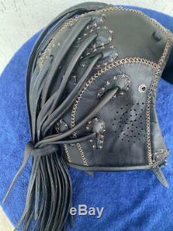 Vintage Mint Extremely Rare Beautiful Oakley Medusa L Leather Helmet