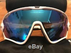White Oakley Jawbreaker Sunglasses Custom Sagan Special Edition