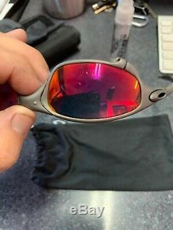 X-men Oakley Juliet Sunglasses. X Serial Number X-metal